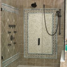 Custom Framed Shower Door Installation Philadelphia