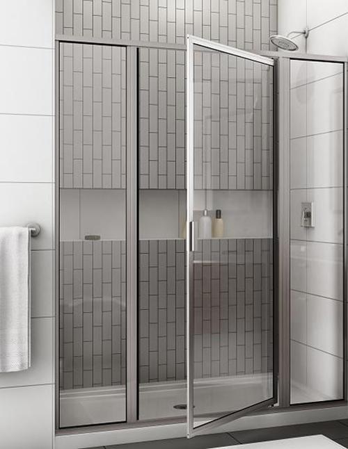 Framed Shower Door Installation Byroman Bensalem Pa