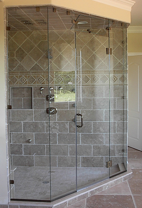 Frameless Shower Door Installation Byroman Bensalem Pa