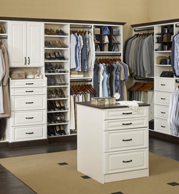 Walk-In Master Closet Design